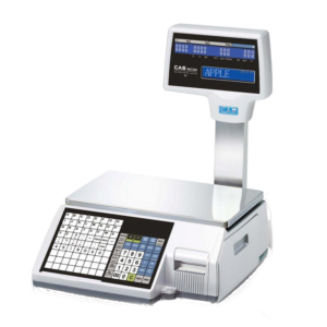GC Weighing & Calibrations CAS CL-5500 Barcode Label and Receipt Printing Scale